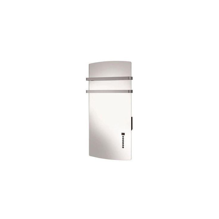Seche-serviettes Mural – Miroir – Soufflerie – Minuterie – Programmatio – Miromiroir – Taille : Taille Unique