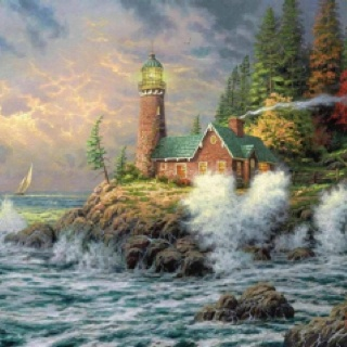 Courage ~ Thomas Kinkade                                                       …