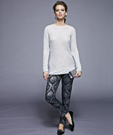 Love this whole outfit! Tried to buy the pants but supposedly the manufacturer didn't end up making enough of them for the US. Shoes were out of stock, too!