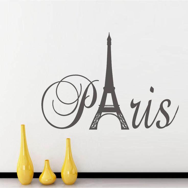 Paris Art Torre Eiffel Extra Ble Pegatinas De Vinilo De