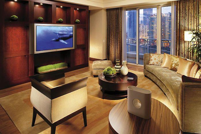 Mandarin Suite - Living Room