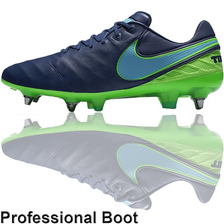 The Football Nation Ltd - Nike Tiempo Legend VI Pro Boots (SG - Blue/