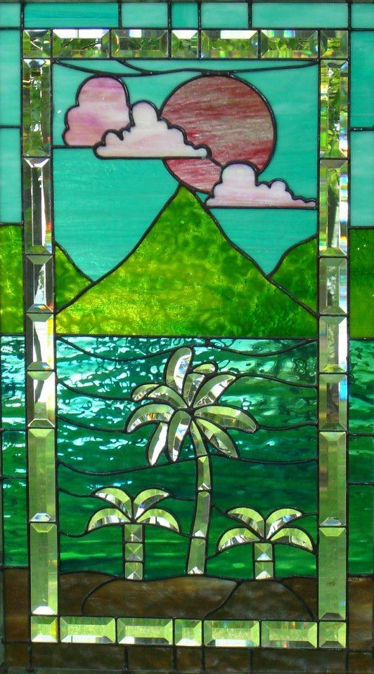 colourful stained glass