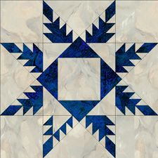 Feather Star:  Free block patterns via Jinny Beyer, hundreds of them.