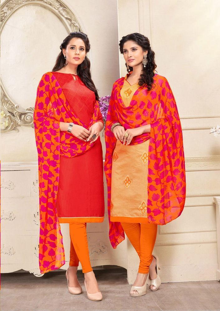 d0691e56847 Indian Salwar Kameez Loose Unstitch Dress Material Punjabi Work Suit Cotton  New  Handmade  IndianSalwaarKameezDupatta  cotton  fashion  salwarkameez ...