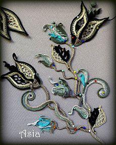 Irish Crochet……… Найдено на сайте liveinternet.ru.