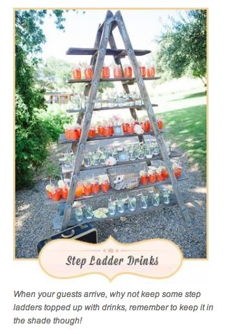 Serving Step Ladder