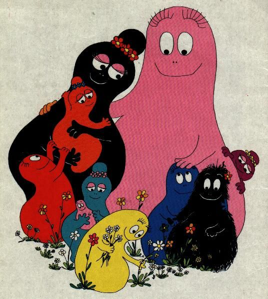 Barbapapas…lickety split, barbara trick (at least I think that's how the s… – Birgit Obenland