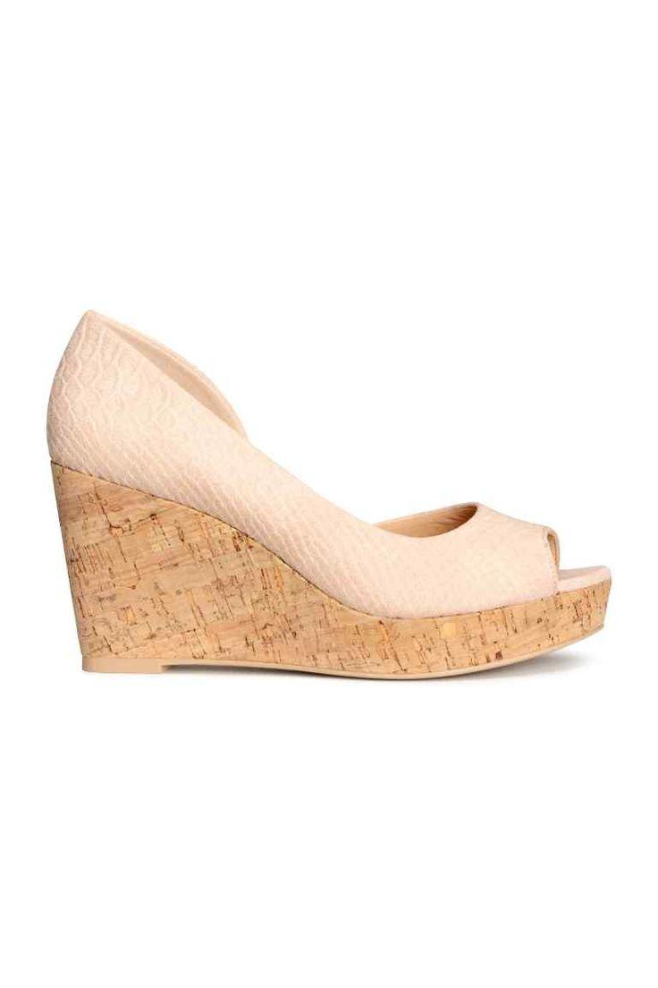 Sandały na koturnie | H&M