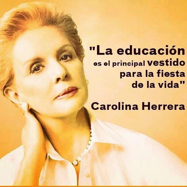 Frases de Carolina Herrera!!!!
