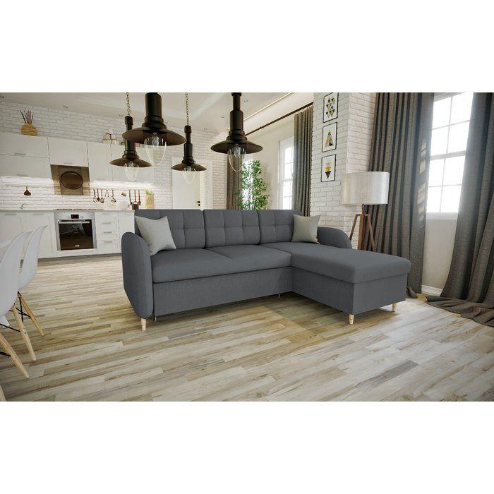 Norden Home Derrick Corner Sofa Bed Wayfair Co Uk Modular Corner Sofa Corner Sofa Living Room Sofa