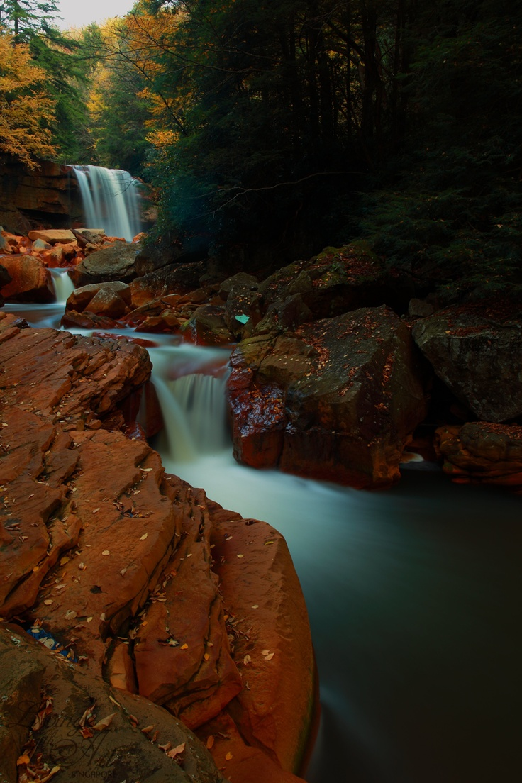 77 Best Home Decor Wallpapers Waterfall Images On Pinterest