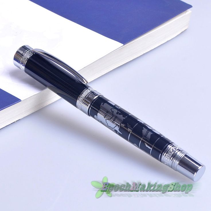 57 best calligraphy and fountain pens images on pinterest regal 951 world map medium nib metal pen superior fountain pen new sciox Images