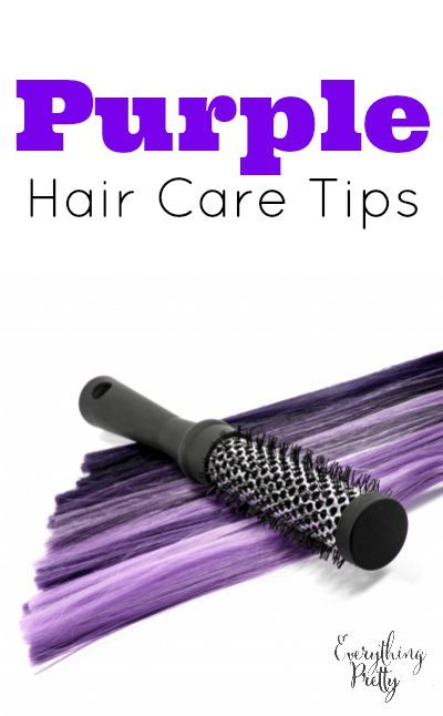 8 Tips for purple hair care.
