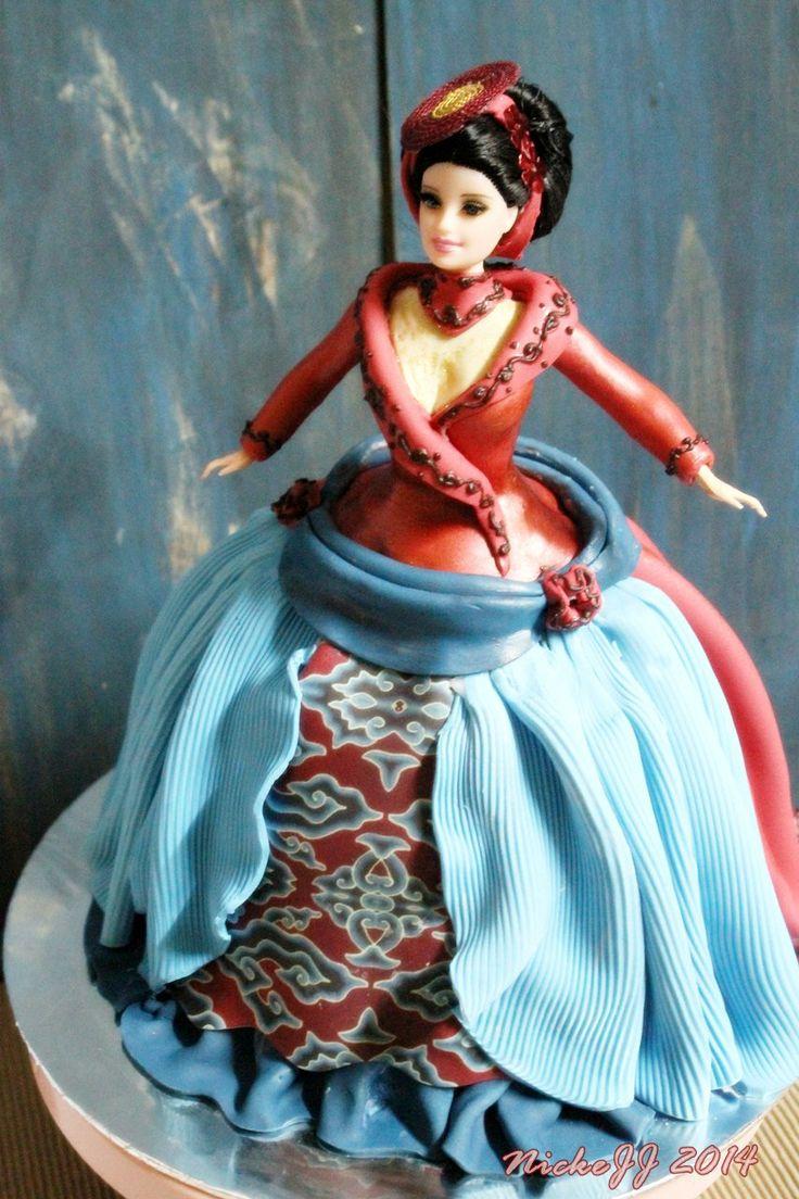 Best Barbie Birthday Cake Ideas On Pinterest Doll Cakes Princess