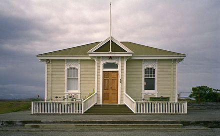 Former Customhouse in Hokitika - built in 1895.