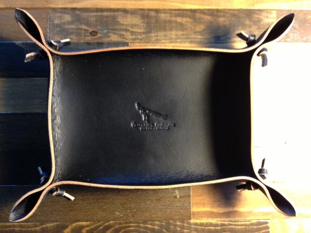 been working on some limited edition black versions of the valet tray