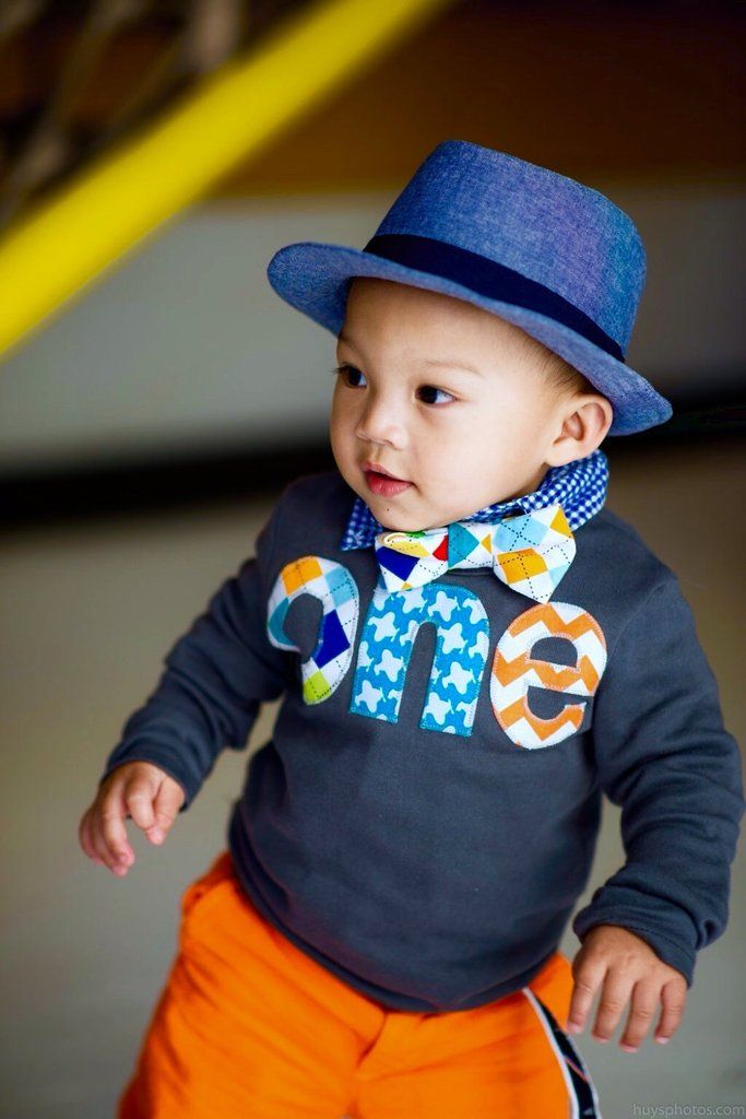 Navy one Birthday Shirt - long sleeves/ applique Argyle, airplanes, chevron- Boys 1st Birthday- 1 year old cake and plane party theme Color Navy Blue Size- order up if you plan to layer 12 Months 18 M