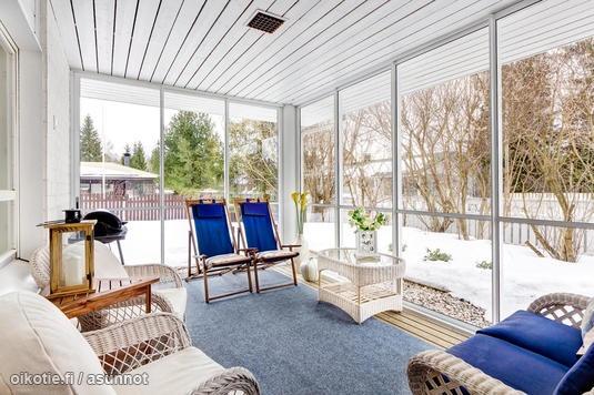 Glass terrace / Lasitettu terassi