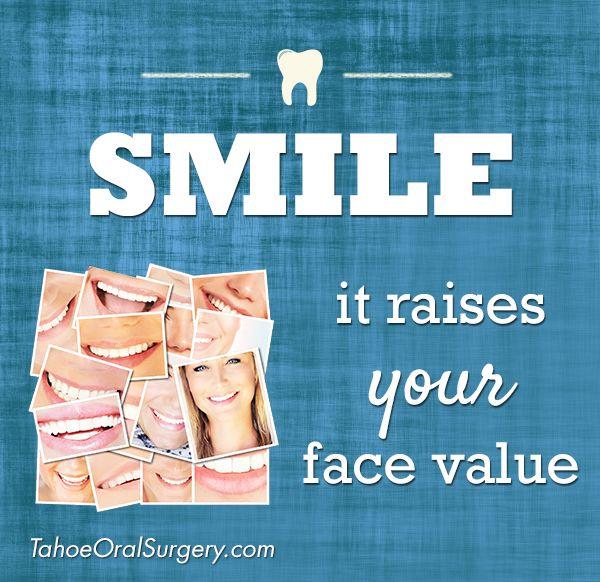 #dental #smile #quotes http://tahoedentalimplants.com/