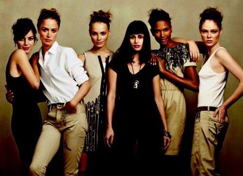 I would be in black, showcasing my design work.   gap - posing groups
