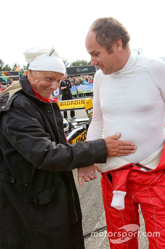 "Lauda:""Is it a boy or girl Gerhard?"""