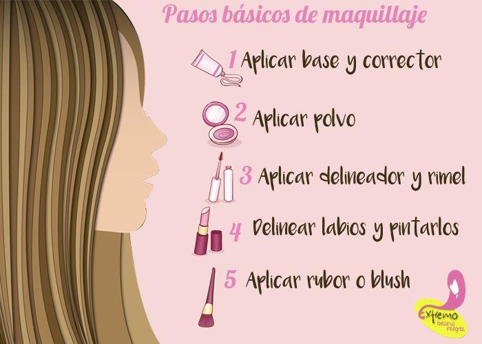 Descubre los pasos de un maquillaje básico que toda mujer debe conocer
