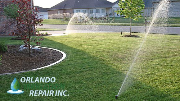 http://www.yelp.com/biz/orlando-irrigation-repair-inc-orlando Orlando Irrigation Repair Inc is Central Florida's premier sprinkler repair company. Whether you just need your valves checked and sprinkler heads replaced, or you have broken sprinkler line flooding your driveway, we can help.