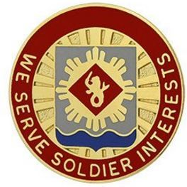 453rd Finance Battalion Unit Crest (We Serve Soldier Interests)