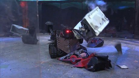 "Gladiators of steel: Russian & British robots destroy each other in St. Pete arena (VIDEO) https://tmbw.news/gladiators-of-steel-russian-british-robots-destroy-each-other-in-st-pete-arena-video  Armed with axes, hammers and other 'hellish' weapons, robots from Russia and England clashed in merciless battle until total extermination, as spectators breathlessly watched the clash of the iron warriors.""Attention! The show contains scenes of total robot carnage,"" organizers of the event declared…"