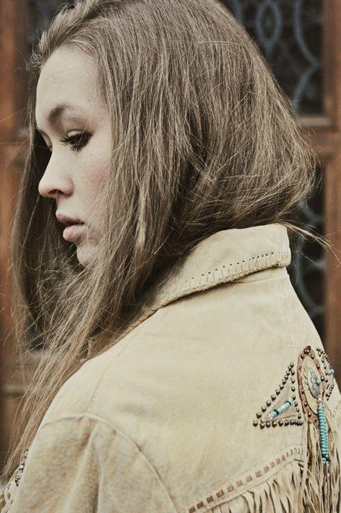 #vintage #leather #jacket #model #spring #shooting