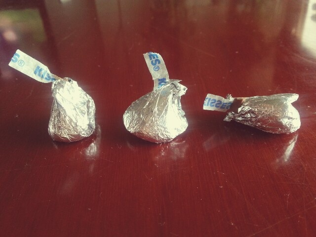 my mom brought smashed kisses