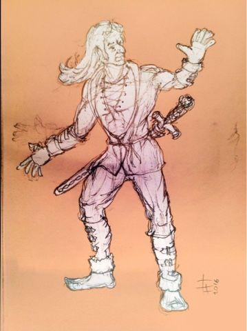 Fabrizio Lorito: Character design