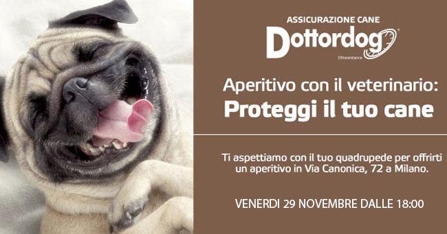 """Aperitivo con il veterinario: """"Proteggi il tuo Cane"""""""