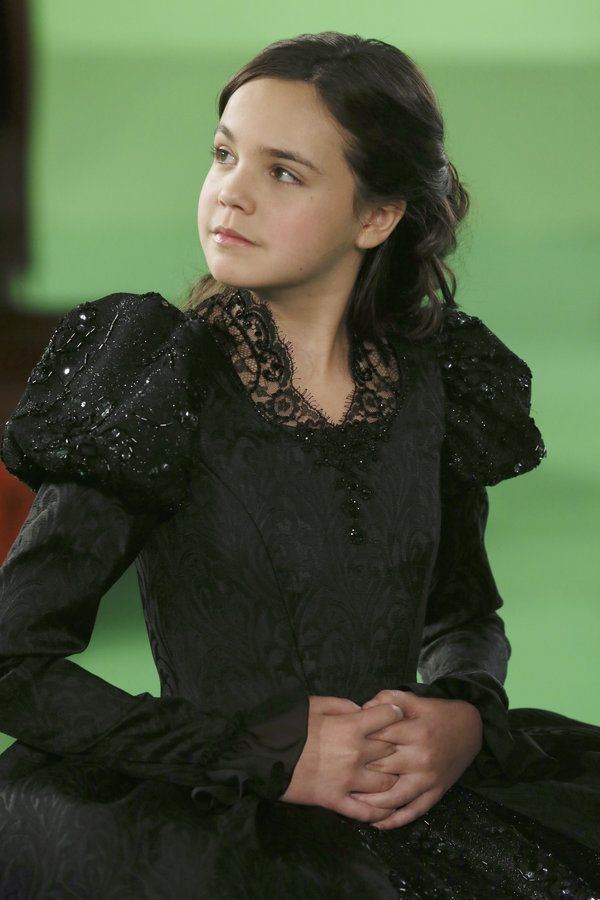 Young Snow White. #OnceUponATime #Once