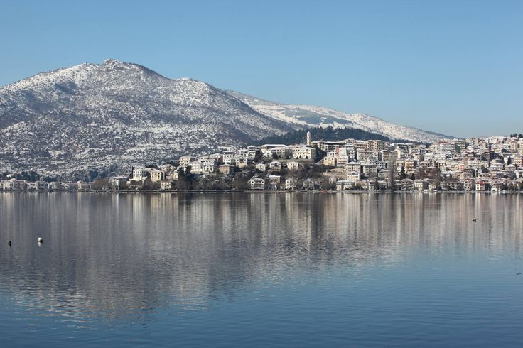 Kastoria on winter of 2014