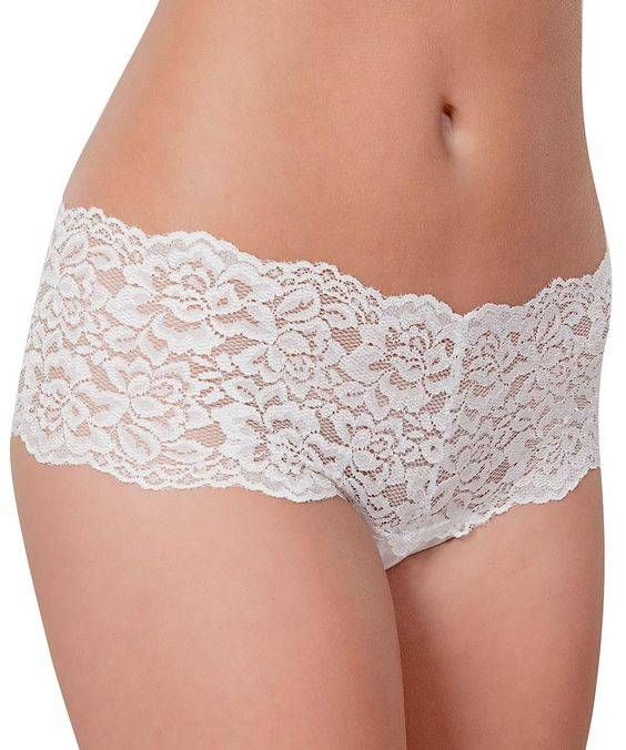 Introducing the mid-rise panty with 5 inch lace waistband from Knockout! for a smooth tummy fit and eliminating muffin tops. Light, natural, and soft, the breathable fabric and 100% cotton liner is designed to protect, absorb, and wick away moisture.