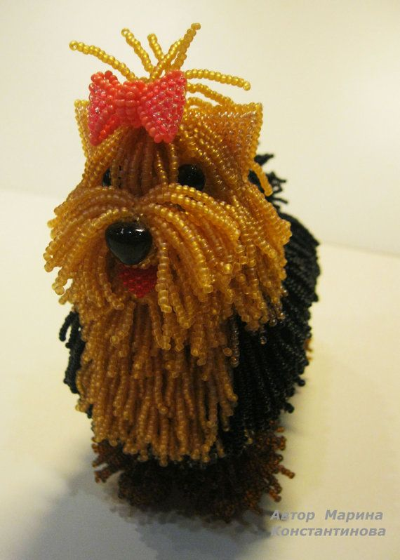 Pattern / Tutorial Beaded Ornament Master class to by ToysBeads