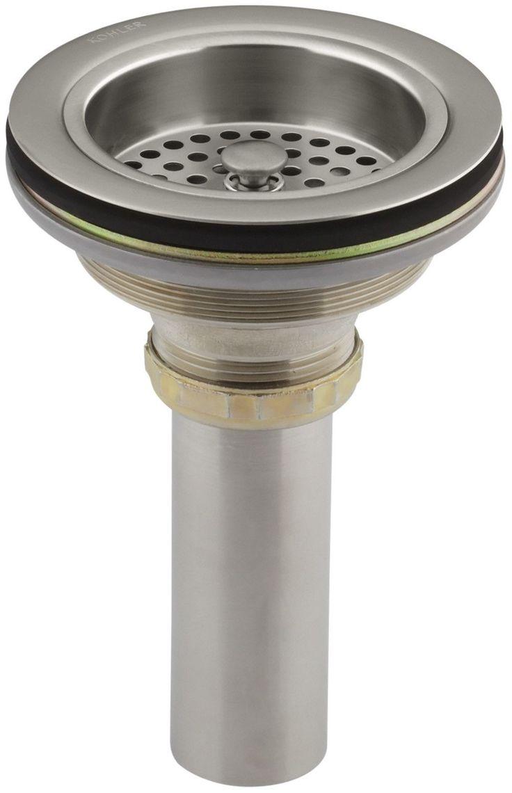 Duostrainer Manual Sink Strainer With Tailpiece · HandbuchWaschbeckenSink  Strainer