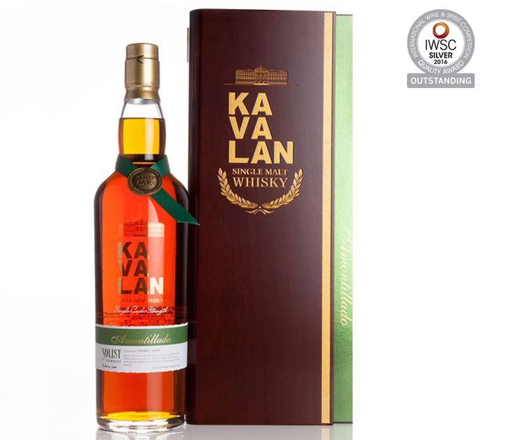 Kavalan Solist Amontillado Sherry Single Cask Strenght 55,6% otrzymał tytuł najlepszej na świecie whisky słodowej z pojedynczej beczki, przyznany podczas tegorocznej edycji World Whisky Awards w Londynie.