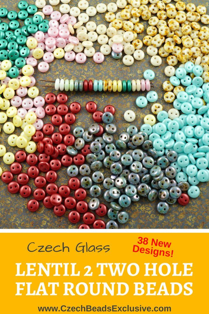 Czech Glass Lentil 2 Two Hole Flat Round Beads  24 In stock + 38 New Designs! - Buy now with discount!  Hurry up - sold out very fast! www.CzechBeadsExclusive.com/+lentil+two+hole SAVE them! ??Lowest price from manufacturer! Get free gift! 1 shipping costs - unlimited order quantity!  Worldwide super fast ?? shipping with tracking number! Get high wholesale discounts! Sold with  at http://www.CzechBeadsExclusive.com #CzechBeadsExclusive #czechbeads #bead #beaded #beading #beadedjewelry…
