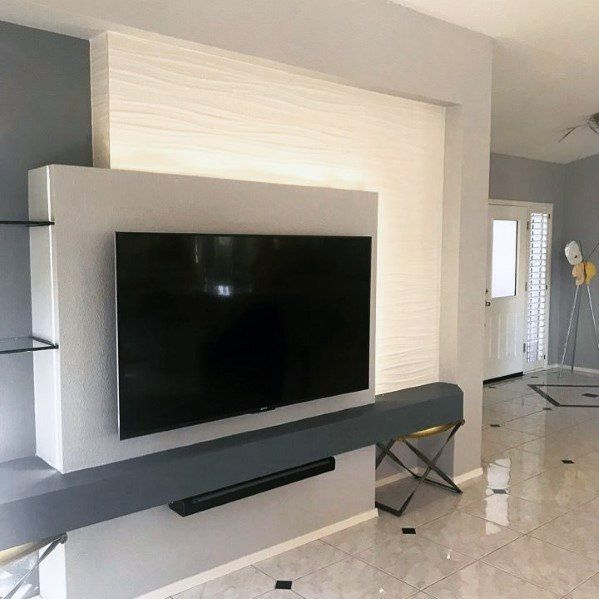 Top 70 Best Tv Wall Ideas Living Room Television Designs Tv Wall Design Tv Wall Living Room Tv Wall