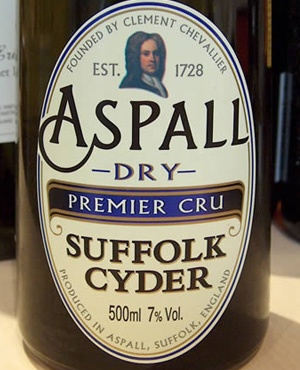 Aspall Cyder, from Aspall! My favourite is newly discovered Peronelle Blush.