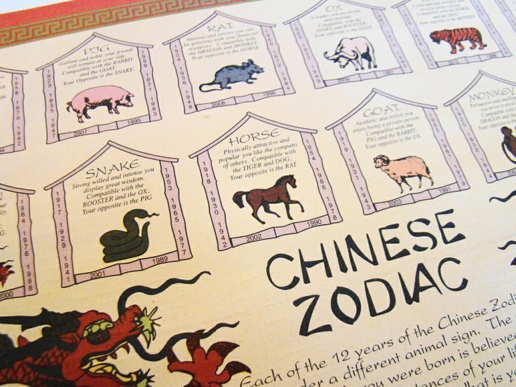 ** Chinese New Year Zodiac Calendar @bloginsureandgo