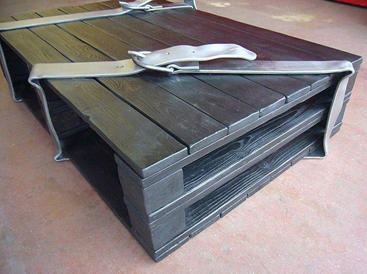 Tavolino basso con portariviste da salotto Collezione Emigrante by Giovanni Casellato | design Giovanni Casellato