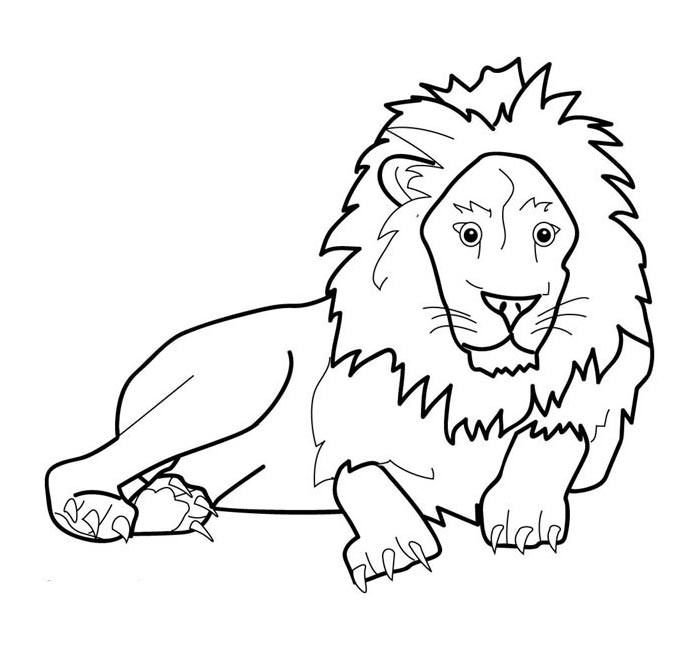70 Animal Colouring Pages Free Download Print Lion Coloring Pages Animal Coloring Pages Zoo Animal Coloring Pages