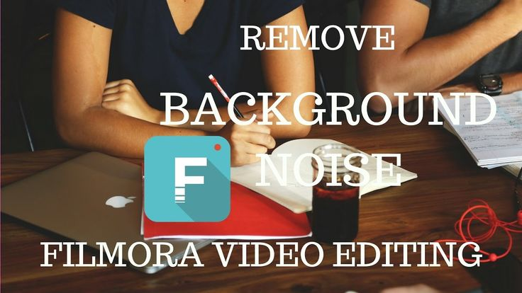 How to Remove Background Noise from any Video _ Filmora Video Editing _ ...