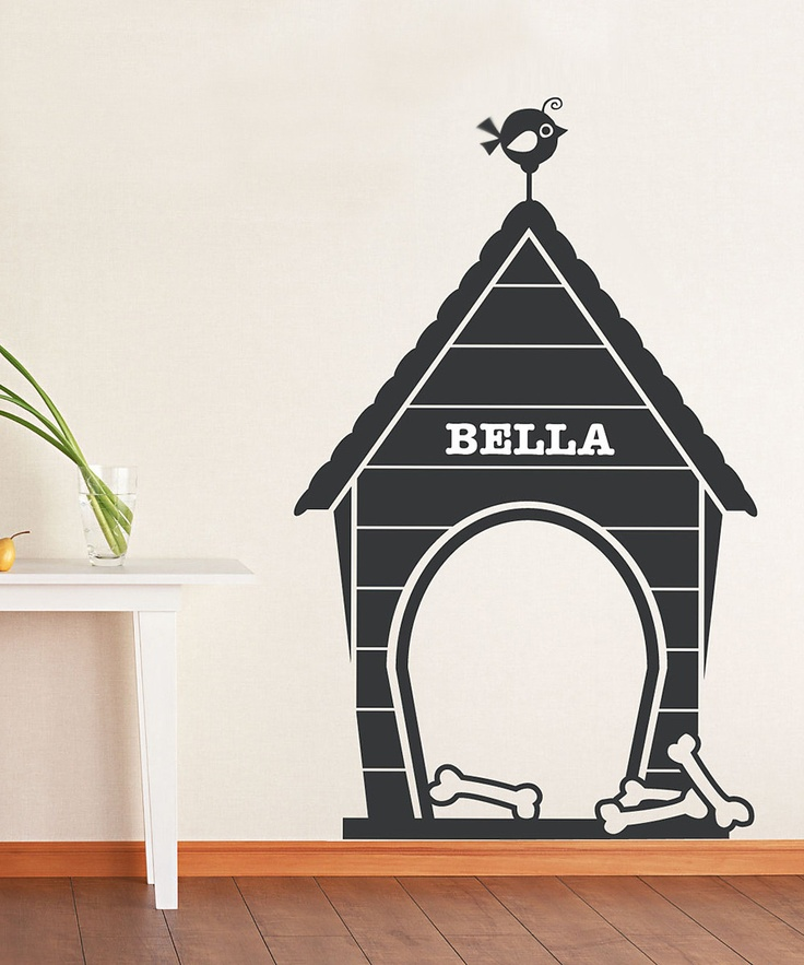 Best Dog Wall Stickers Images On Pinterest Wall Stickers - Custom vinyl wall decals dogs
