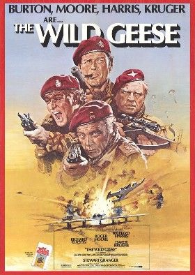 The Wild Geese (1978 film) poster.jpg