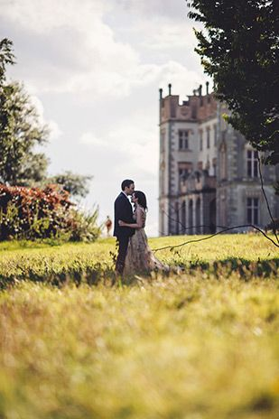 Hannah and Mike's beautiful Borris House wedding by Moat Hill Photography | www.onefabday.com